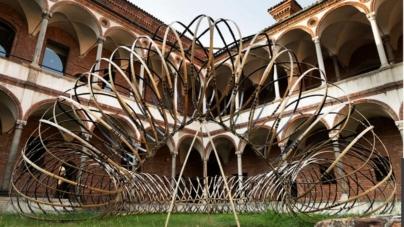 Milano Design Week 2021 Oppo: l'installazione Bamboo Ring all'Università Statale di Milano