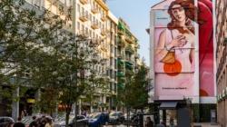 Murales Milano Cheone Fuorisalone 2021: Il Tempo della Bellezza, omaggio alla Venere di Botticelli