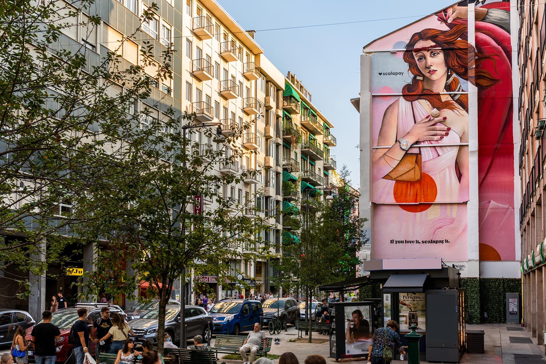 Murales Milano Cheone Fuorisalone 2021