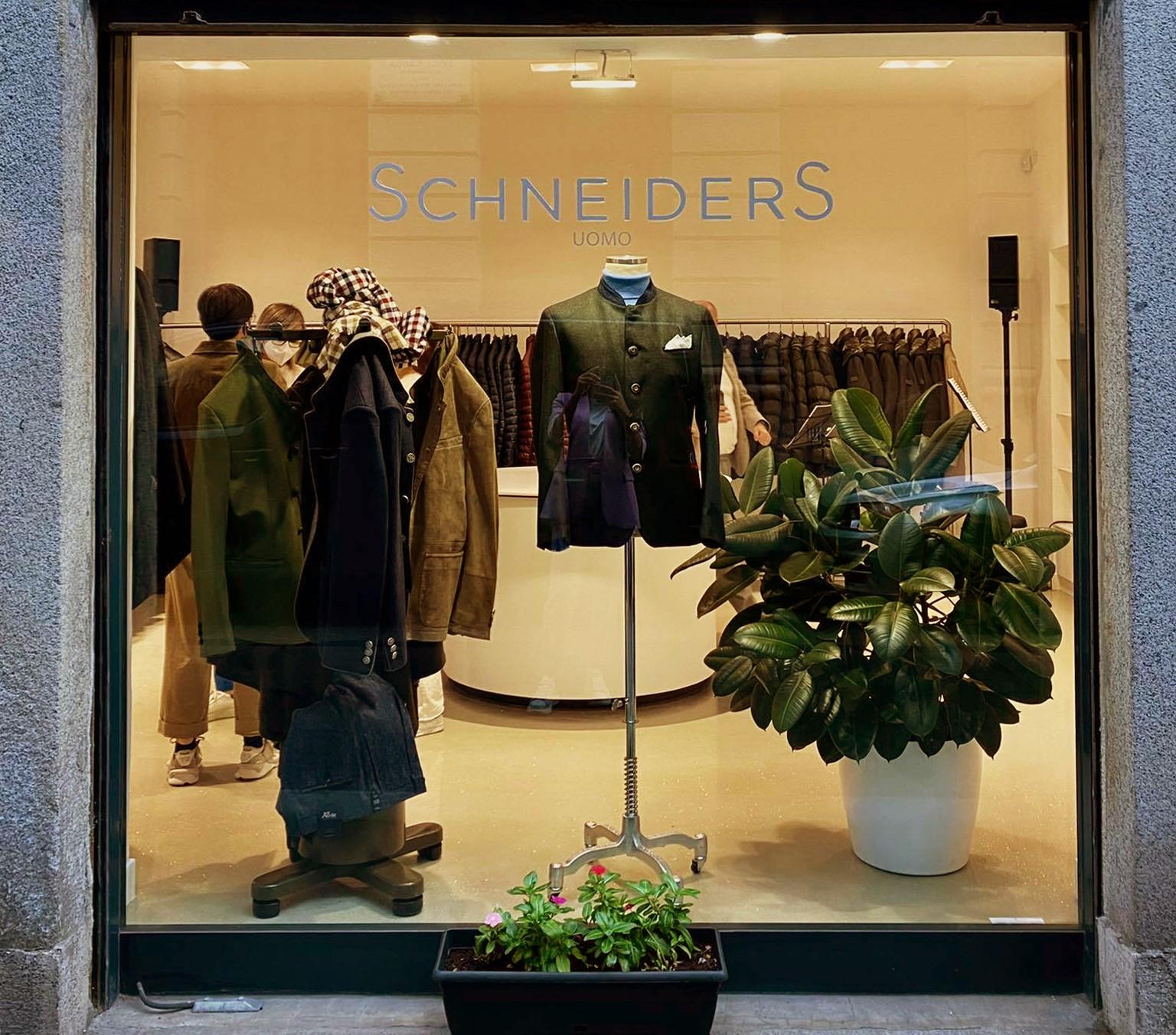 Schneiders Salzburg boutique Milano