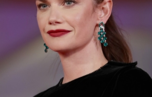"""VENICE, ITALY - SEPTEMBER 05: Ruth Wilson attends the red carpet of the movie """"Mona Lisa And The Blood Moon"""" during the 78th Venice International Film Festival on September 05, 2021 in Venice, Italy. (Photo by Vittorio Zunino Celotto/Getty Images)"""