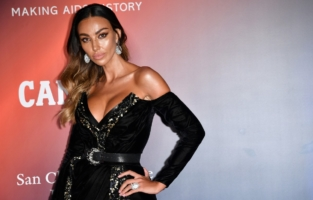 VENICE, ITALY - SEPTEMBER 10: Madalina Ghenea attends the amfAR Venice gala 2021 on September 10, 2021 in Venice, Italy. (Photo by Pietro D'Aprano/amfAR/Getty Images for amfAR)