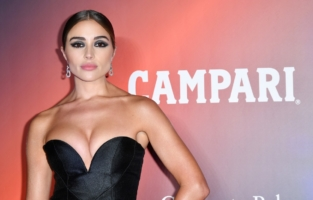 VENICE, ITALY - SEPTEMBER 10: Olivia Culpo attends the amfAR Venice gala 2021 on September 10, 2021 in Venice, Italy. (Photo by Pietro D'Aprano/amfAR/Getty Images for amfAR)