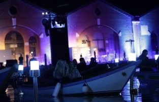 VENICE, ITALY - SEPTEMBER 10: <> attends the amfAR Venice gala 2021 on September 10, 2021 in Venice, Italy. (Photo by Claudio Lavenia/amfAR/Getty Images for amfAR)