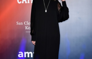 VENICE, ITALY - SEPTEMBER 10: Stefania Rocca attends the amfAR Venice gala 2021 on September 10, 2021 in Venice, Italy. (Photo by Pietro D'Aprano/amfAR/Getty Images for amfAR)