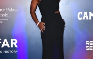 VENICE, ITALY - SEPTEMBER 10: Cynthia Erivo attends the amfAR Venice gala 2021 on September 10, 2021 in Venice, Italy. (Photo by Pietro D'Aprano/amfAR/Getty Images for amfAR)